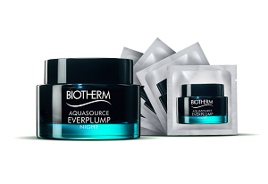 Тестирование ночной маски BIOTHERM Aquasource Everplump Night