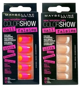 Тестирование Maybelline Color Show Nail Falsies