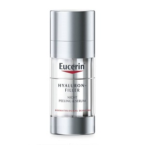 Бесплатный пробник Eucerin Hyaluron-Filler Night Peeling & Serum